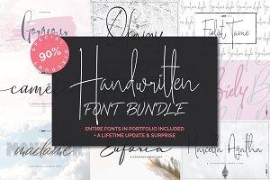 Handwritten Font Bundle