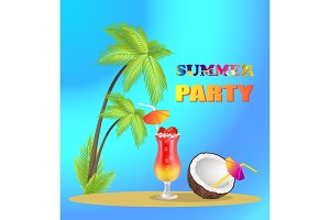 Summer Party Advertisement Banner