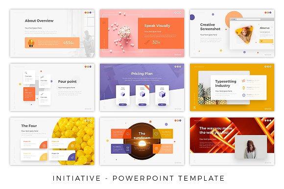 initiative creative presentation presentation templates