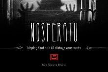 Nosferatu Display Font