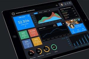 Bussolini.com / Dashboard iPad UI