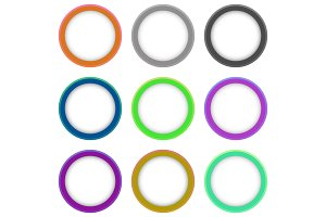 Set of Vector Colorful Banners