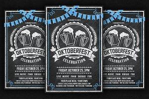 Oktoberfest Chalk Flyer
