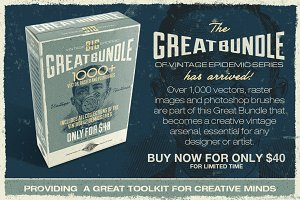 Great Bundle 1000+ Vintage Textures