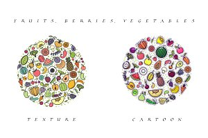 Fruits, Vegetables and Berries 42*2