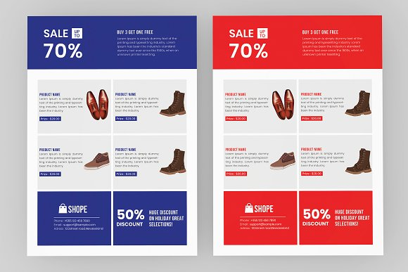 Product Flyer Template ~ Flyer Templates ~ Creative Market