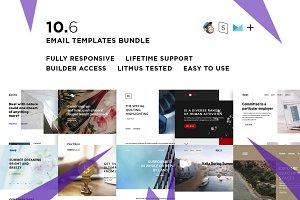 10 Email templates bundle VI