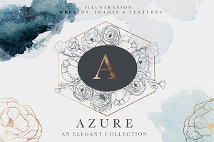 Azure Textures & Illustrations