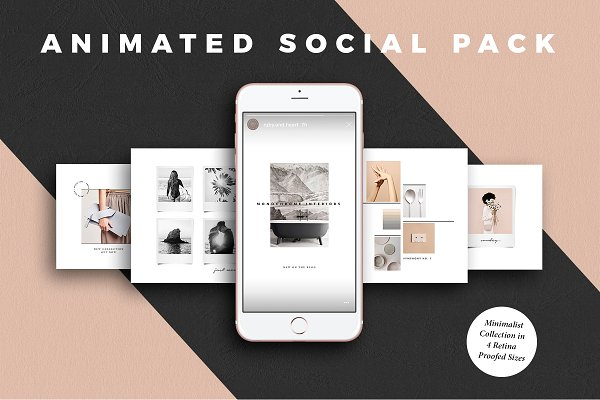 ANIMATED Minimalist Social Media Ki…