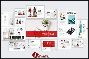 Break Powerpoint Template
