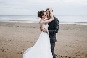 Beautiful sea wedding