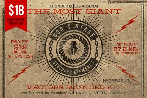 Vectors Rounded Kit - Giant Box 01