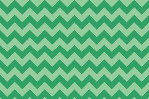 Seamless chevron pattern, green colo