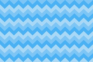 Seamless chevron pattern three blue