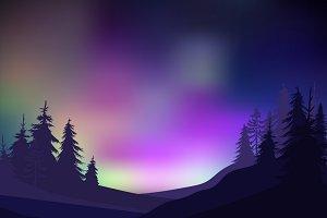 Colorful Nature Landscape Templates