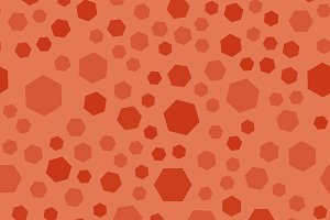 Abstract polygon seamless pattern, a