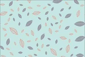 Seamless pattern with dark gray and