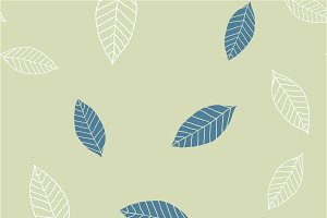 Seamless pattern with blue and beige