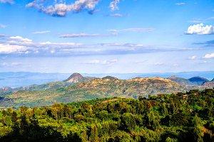 Aerial view to Mago National Park, O
