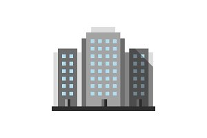 Multi-storey building icon