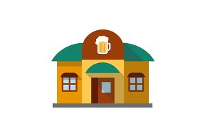 Alehouse, beerhouse icon