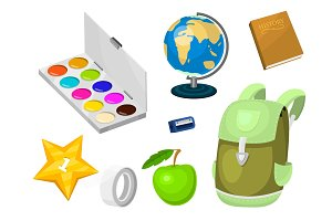 School supplies stationery