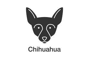 Chihuahua glyph icon