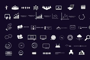BigData - Business Infographics Pack