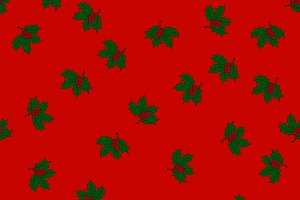 Christmas seamless pattern with holl