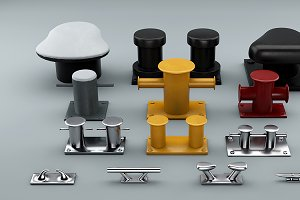 Sea Bollards for ship and yachts and