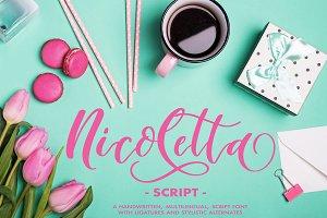 Nicoletta Script - Handlettered Font
