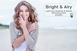 20 Lightroom Bright & Airy Presets