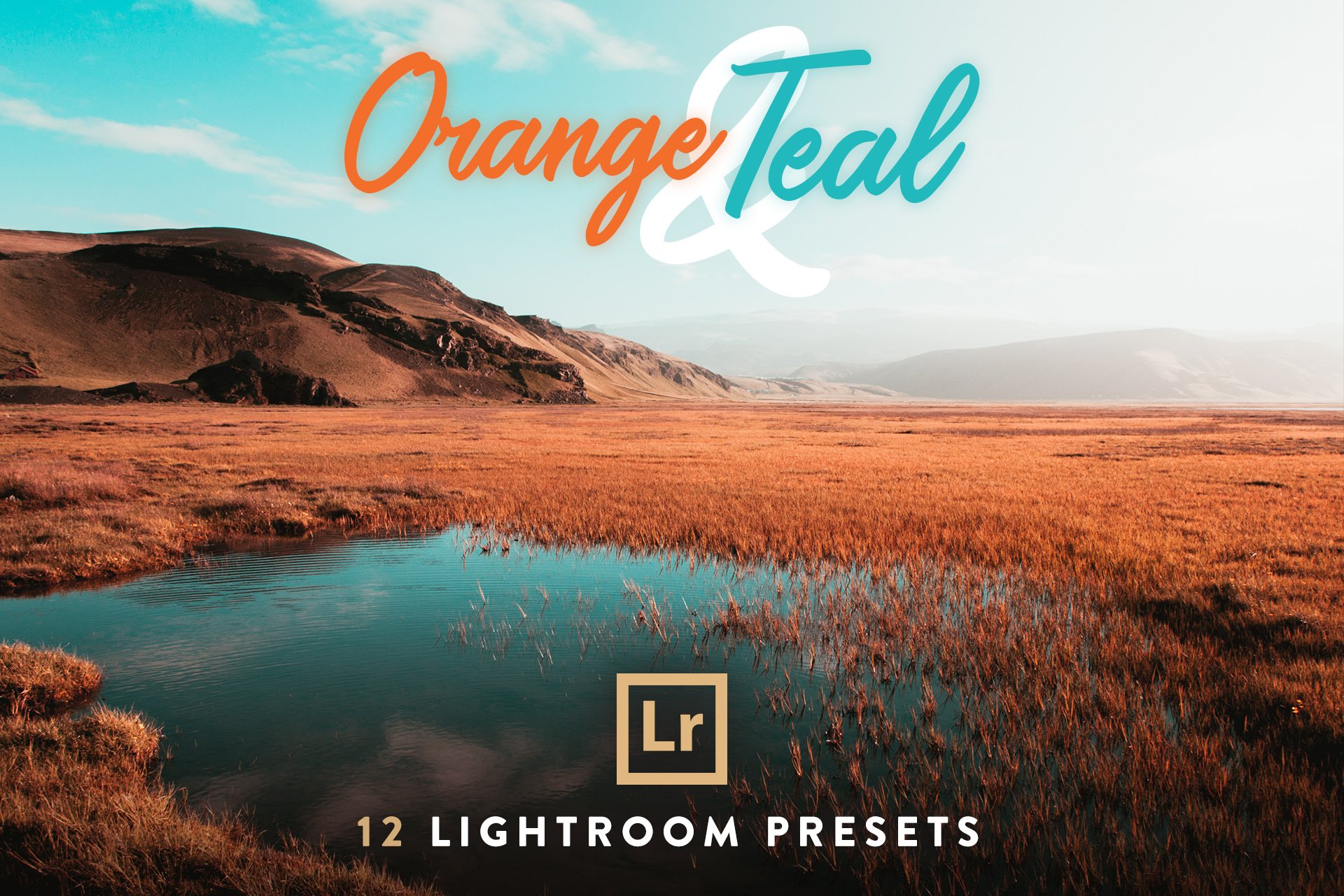 orange and teal lightroom preset free