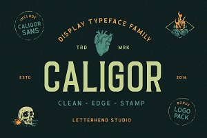 CALIGOR - Display Typeface