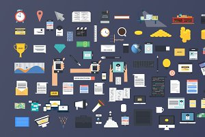 BigData - Coporate Infographics Pack