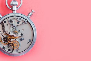 Mechanic stopwatch chronometer