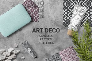 Art Deco Seamless Pattern collection