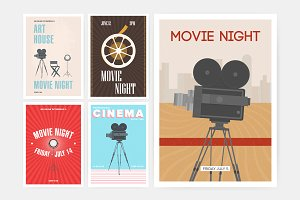 Posters for movie festival
