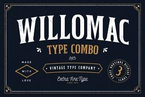 Willomac Combo Font