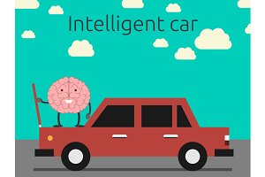 Intelligent car concept