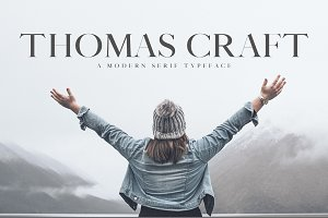 Thomas Craft A Modern Serif Typeface