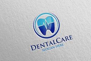 Dental Logo, Dentist stomatology 1