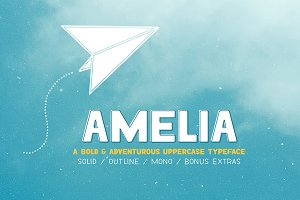 Amelia Font Collection