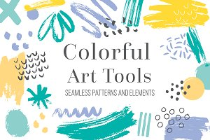 Colorful Art Tools