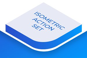 Isometric Actions for Illustrator