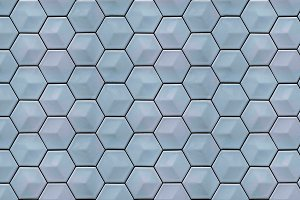 Hexagonal grid seamless texture