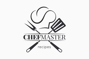 Chef master logo with