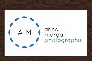 Anna Morgan Photography Logo - PSD