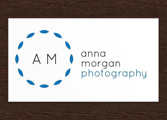 Anna Morgan Photography Logo - PSD