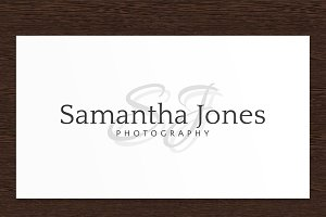 Samantha Jones Photography Logo PSD